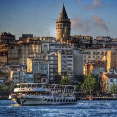 The glorious Galata Tower is a unique architectural heritage of Istanbul.
