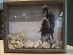 YES!! Perfect use for the smallish shells I'm bringing home from the beach. Now...do I have a frame worthy shot...