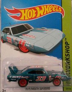 Hot Wheels '70 Plymouth Superbird 20-5 Super Treasure Hunt