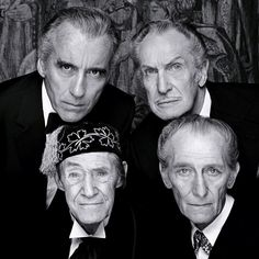 Christopher Lee. Vincent Price.  John Carradine. Peter Cushing.