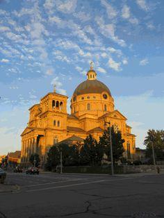 Exterior - The Basilica of St. Josaphat - Milwaukee, WI