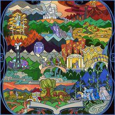 road to Gondor by breathing2004.deviantart.com on @deviantART