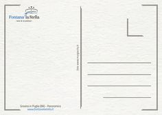 B&B Fontana la Stella - Gravina in Puglia Retro cartolina per gli ospiti.