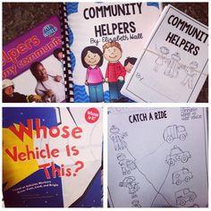 Peek at my Week…Community Helpers!