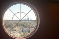 You can see the Dallas Skyline from the fifth floor of the new buildings! Pretty cool!