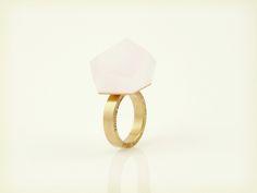 Vu - blossom pink, gold ring - =PYO=