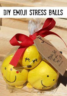 DIY Emoji Stress Balls