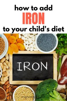 A guide to iron rich foods for toddlers, includes list of iron rich foods for toddler and how to incorporate iron in a toddlers diet especially picky eaters Healthy Toddler Meals, Kids Meals, Healthy Snacks, Lentil Bolognese, Cracked Wheat, Rich Recipe, Iron Rich Foods, Kids Diet