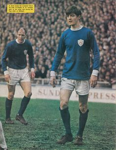 January Leicester City attacking duo Andy Lochhead and Allan Clarke in action against Millwall in the FA Cup Round, at the Den. Leicester City Fc, Laws Of The Game, Millwall, Association Football, Most Popular Sports, Retro Football, Football Program, Fa Cup, World History