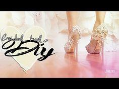 ▶ ♡DIY|Bridal inspired heels tutorial ♡ - YouTube