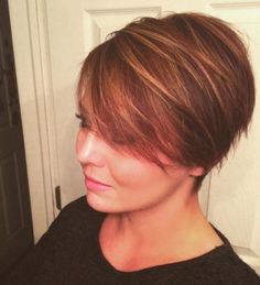 Best Women Short Pixie Haircuts For Round Face 2018