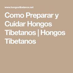 Como Preparar y Cuidar Hongos Tibetanos | Hongos Tibetanos