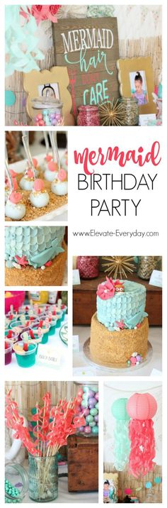 Mermaid Birthday Par