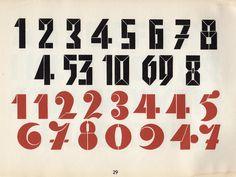 2 Schablonen-Zahlenreihen