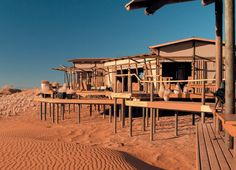 #Wolwedans Camp is located in the heart of NamibRand Nature Reserve, #Namibia, the largest private nature reserve in Southern Africa