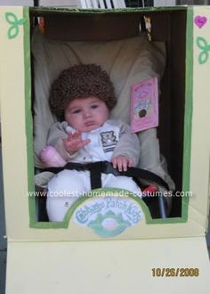 Homemade Cabbage Patch Costume: I got this idea for the Homemade Cabbage Patch Costume from this web site. I loved Cabbage Patch kids when I was little and still love them.  My son was