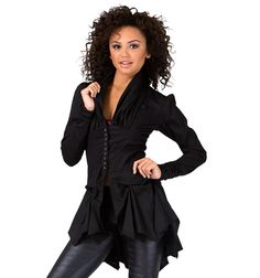 Don't know what we would use it for....but it is awesome Marcea Long Sleeve Button Up Shirt