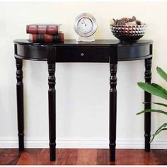 $95.  Convenience Concepts Newport Entryway Console Table, Multiple Finishes - Walmart.com