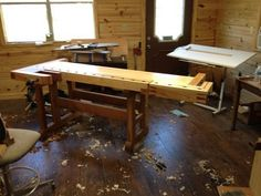 Work bench smack down - by Newage Neanderthal @ LumberJocks.com ~ woodworking community