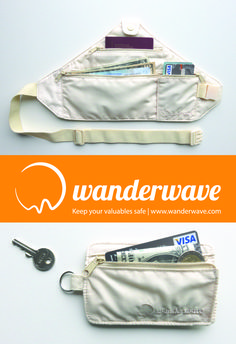 The WANDERBELT | Are uncomfortable money belts a necessary evil? Not anymore now the Wanderbelt has arrived. On your next trip, keep you valuables safe with the most comfortable, practical and discreet money belt, especially designed for travelling women. Now available fully skin colored which hides even more discreetly under your clothes. #TravelGearForWomen