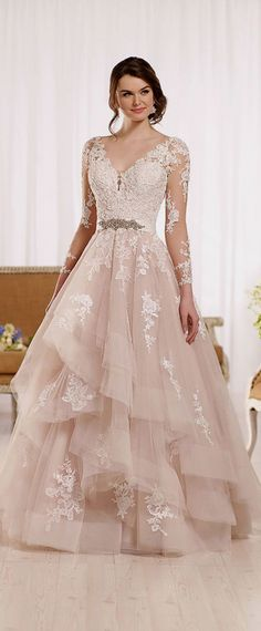 Lace wedding dress. Forget about the soon-to-be husband, for the present time lets concentrate on the bride-to-be whom thinks about the wedding ceremony as the best day of her lifetime. With this fact, then it's certain that the wedding garment needs to be the best.
