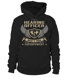 Hearing Officer Superpower Job Title T-Shirt #HearingOfficer