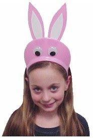 Orejas de conejo Pascua en foami (fomy, foam, goma Eva)