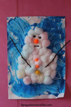Un chouette bonhomme de neige tout doux ! #ChouetteBox #cycledeleau #diy