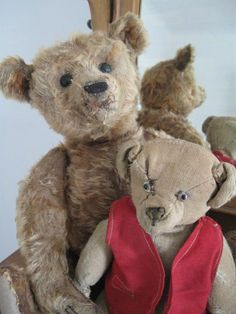 "Antique Cinnamon Steiff 16"" Bear, Cecil"