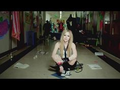 "Avril Lavigne ""Here To Never Growing Up"" hot new music with hot new music video"