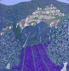 Lavender at Simiane by Sheila Smithson