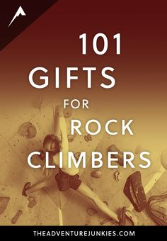 Best Gifts for Rock Climbers - Rock Climbing Tips for Beginners – Rock Climbing Workouts and Exercises to ImproveYour Training – Bouldering and Climbing Articles via Solo Climbing, Alpine Climbing, Rock Climbing Gear, Climbers Rock, Mountain Climbers, Mountain Biking, Rock Climbing Workout, Abseiling, Camping Life