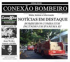 CONEXÃO BOMBEIRO : BOMBEIROS COMBATEM INCÊNDIO EM IPANEMA, ZONA SUL D...