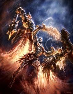 God of war comic book illustrator