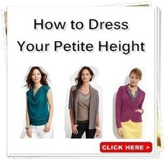 Petite Clothing | Style & Shopping Guide to Womens Petite Clothes, from Pants to Dresses | Fashion Advice