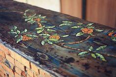 A Mosaic Bar Table - OMG!
