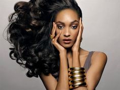 British Supermodel Jourdan Dunn