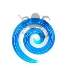 Spirale en verre