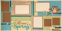 Scrapbookers rock: March Scrap4Fun Layouts