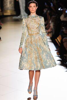 Elie Saab Fall 2012 Couture Fashion Show - Jacquelyn Jablonski (Elite)