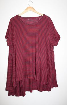 WE THE FREE FREE PEOPLE CIRCLE IN THE SAND TEE STRIPED SHIRT TOP BOHO XS Small #FreePeople #BasicTee