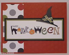 HAPPY HALLOWEEN CARD KIT with Stampin' Up! Products Witch