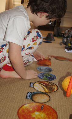 Montessori Inspired Space Exploration Unit