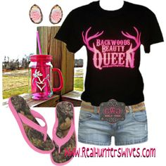 """Backwoods Beauty"" by realhunterswives on Polyvore"