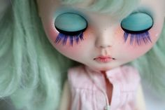 Blythe #doll #turquoise