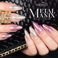 MetalManix Multi Chrome   Indigo Nails