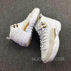 fc458cbc987 Nike Air Jordan 12 Ovo 36-39 Grade School Size 6.5 White Ovo Aj12s New  Release C6GJC