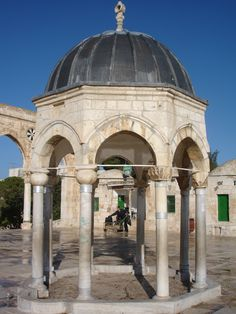 The actual spot where the Jews believe the Temple of Solomon originally stood.