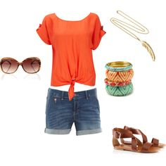 Cute! I would wear my Lucky Brand bracelets instead of the bangles