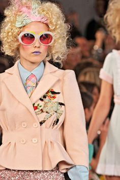 Meadham Kirchhoff Spring 2012 RTW - Details - Fashion Week - Runway, Fashion Shows and Collections - Vogue